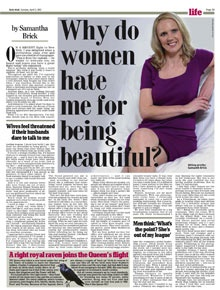 DM's Samantha Brick piece